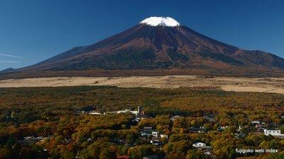北富士演習場と裾野の紅葉