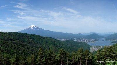 林道西山線からの富士山
