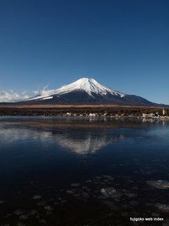 毎日快晴の山中湖