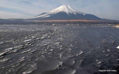 ちょっと雪@山中湖