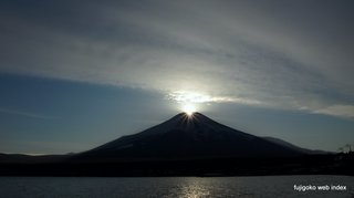 ダイヤモンド富士@山中湖