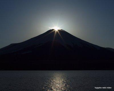 久しぶりにダイヤモンド富士撮れた