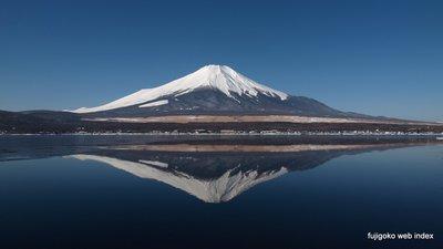 逆さ富士@山中湖