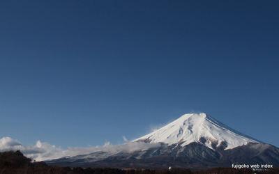 化粧直しの富士山