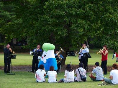 富士山河口湖音楽祭2012 おおきな栗の木の下で