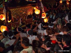 安産祭りクライマックス