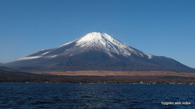 富士山ようやくホンキの雪化粧だけど