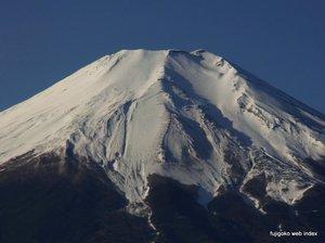 冬至の富士山
