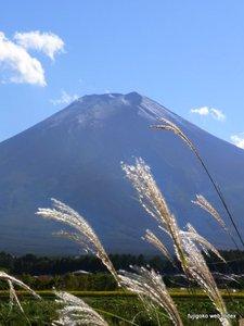 2010富士山初冠雪