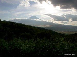 忍野二十曲峠からの富士山