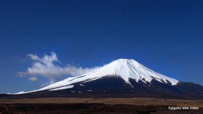 変わらない青空と富士山