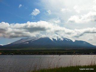 遅めの雪@富士山