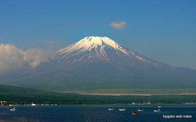 すっきりではないけど晴れて富士山も