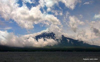 ちょっと富士山見えた〜