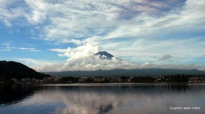 久しぶりの富士山@河口湖