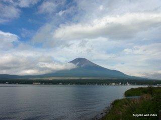 久しぶりの富士山@山中湖