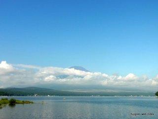 夏の終わりの富士山@山中湖