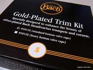 BACH GOLD PLATED TRIM KIT