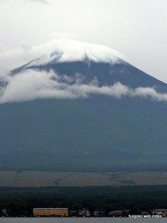 富士山冠雪ふたたび