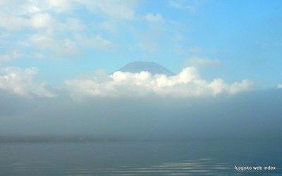 自転車の 自転車 中古 富士 : うっすら富士山