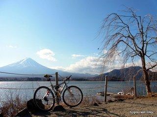 2011年最後の自転車&富士山