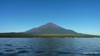 ブラボーに爽やかな今朝の富士山