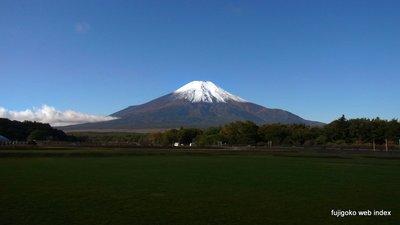 富士山ばっちり雪化粧